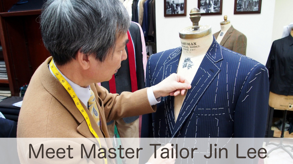 Master Tailor Jin Lee Homepage Image